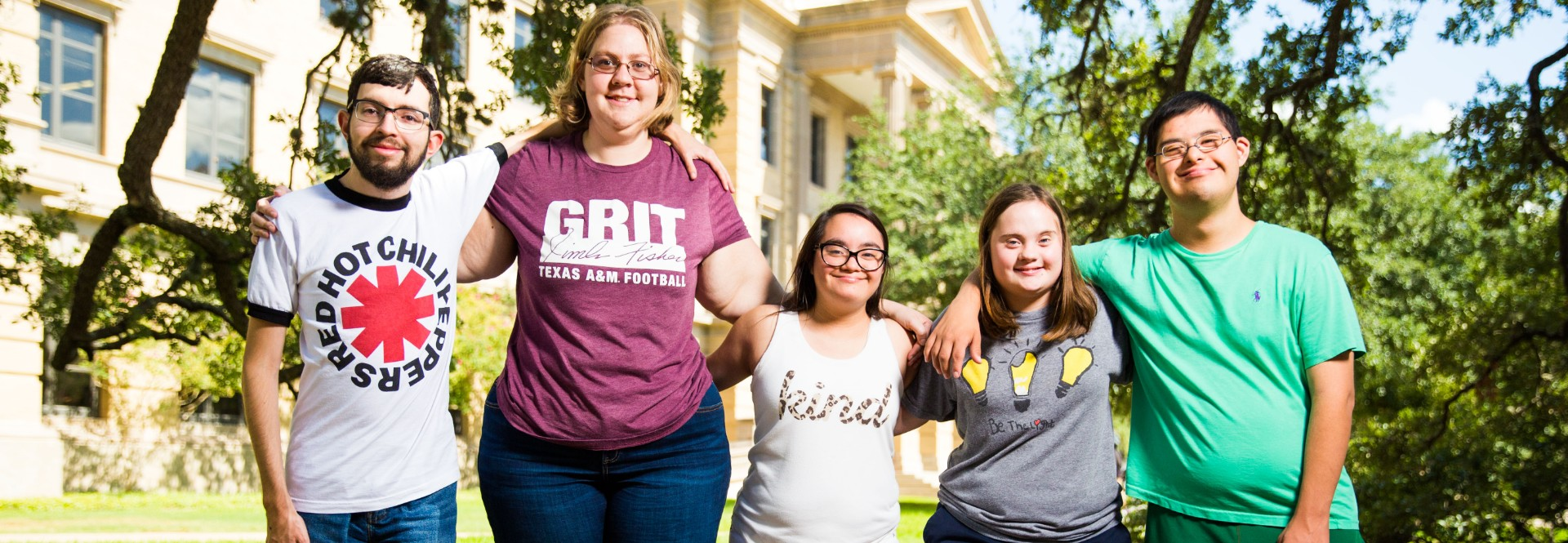 Aggie ACHIEVE program creates a groundbreaking academic opportunity for young adults with intellectual and developmental disabilities.