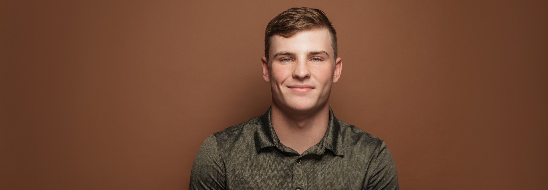 Passionate about coin collecting and bringing buildings to life, Luke Benignus '22 is drawing up plans for his construction career with the help of an Endowed Opportunity Award scholarship.