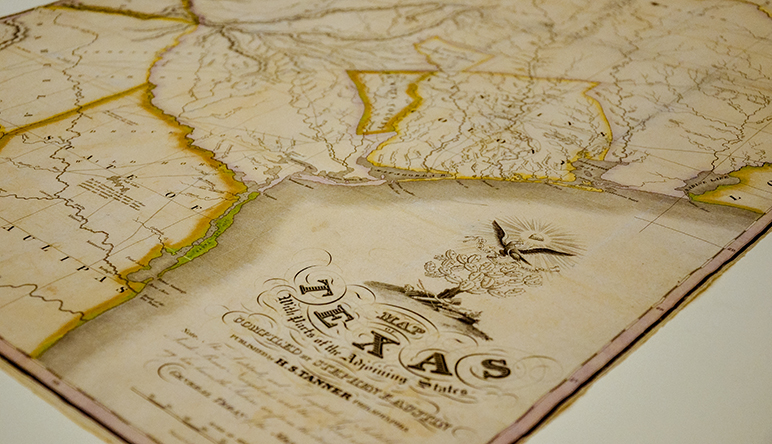 Back Page - The First Map of Texas | Texas A&M Foundation