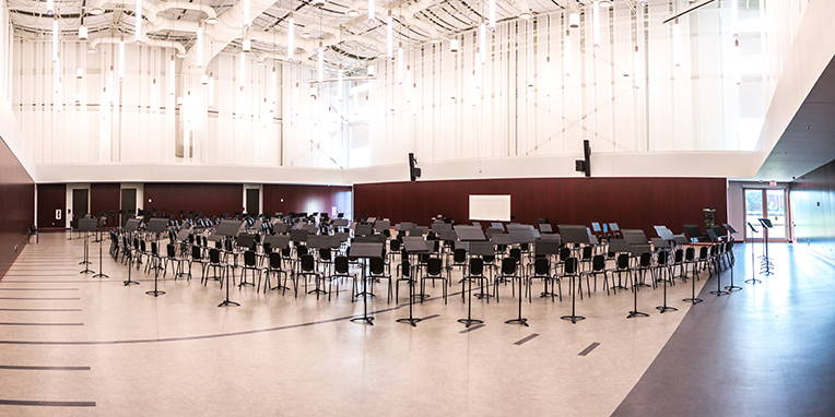 Elizabeth A. and Paul H. Motheral '52 Aggie Band Rehearsal Hall