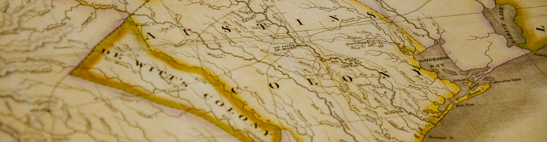 Map Of Texas Am.Texas A M Acquires Stephen F Austin S 1830 Map Of Texas Texas A M