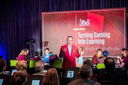 Turning Gaming into Learning | Architecture