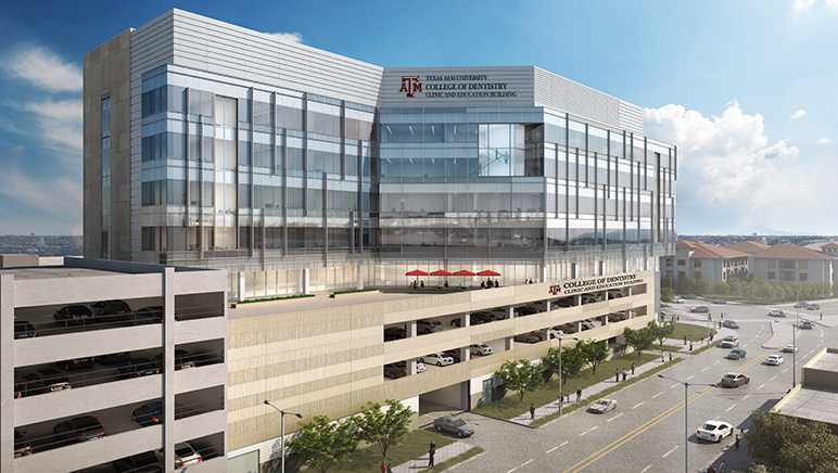 Texas A&M College Of Dentistry Dedicates Site For New
