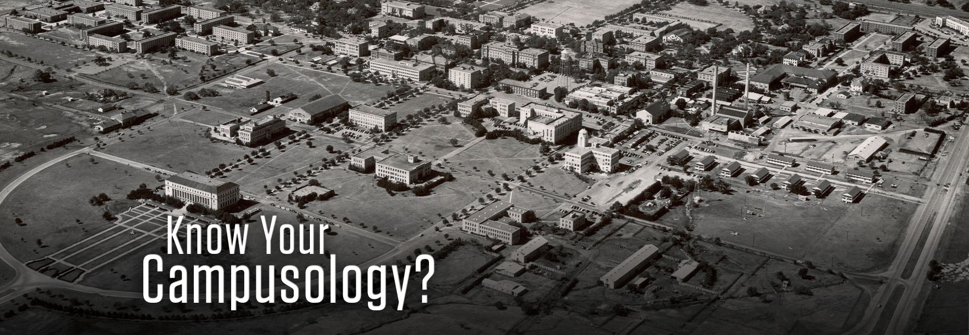 Take our Aggie history quiz with questions derived from Aggie campusology booklets!
