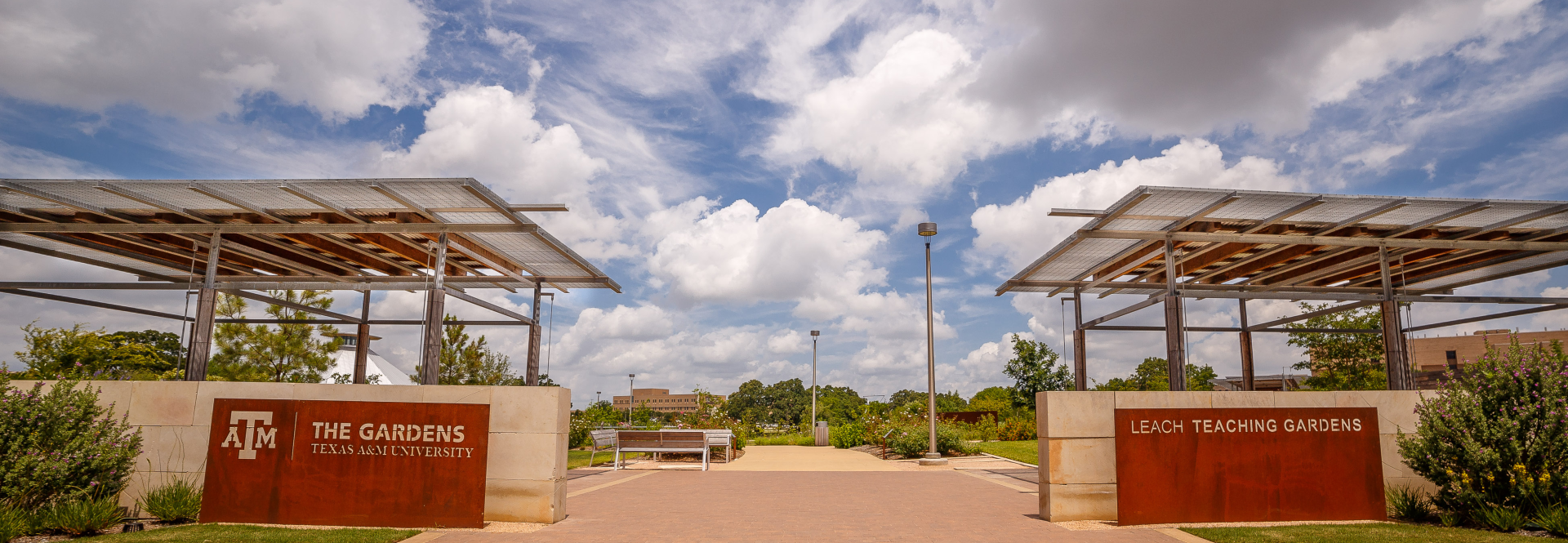 Blossoming during the Lead by Example campaign, a new 7-acre green space on the Texas A&M University campus offers a range of exciting activities for visitors from near and far to get involved.