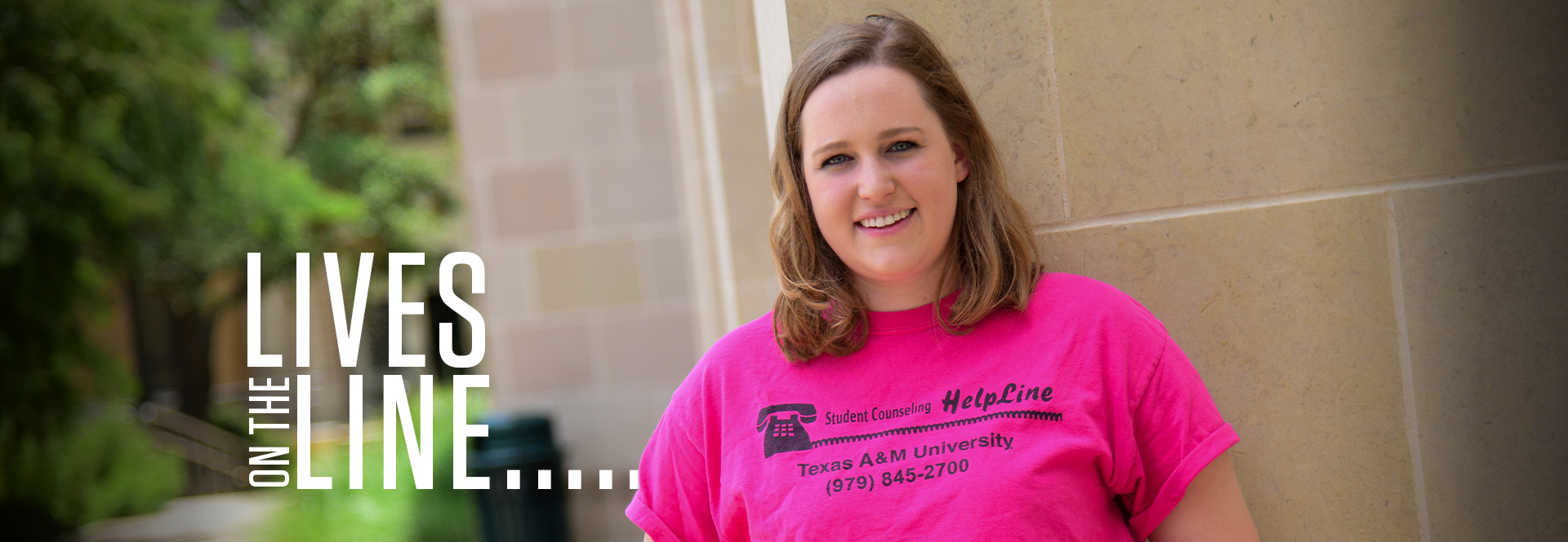 HelpLine is an after-hours mental health service offered by Texas A&M Counseling & Psychological Services and supported by the Houston A&M Mothers
