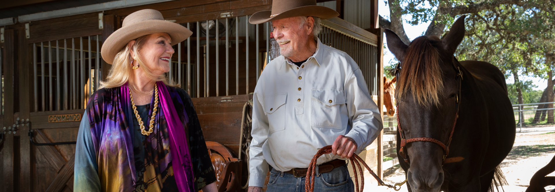 Deborah and Bill Keyes support the advancement of veterinary research through a planned gift, marked as one of the largest contributions to the Lead by Example campaign.